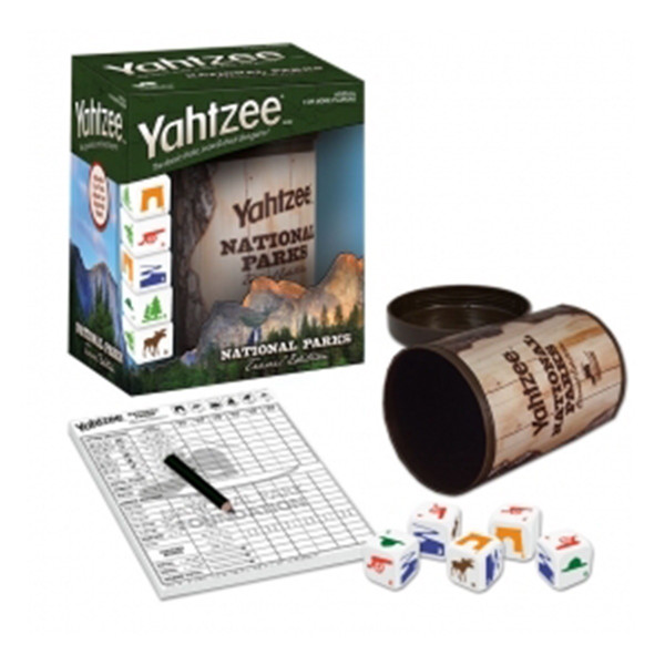 national parks Yahtzee board game