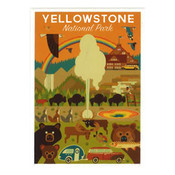 Yellowstone Vintage Magnet