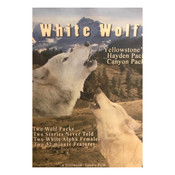 DVD cover of white wolves howling