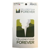 Sticker of Yellowstone Forever logo