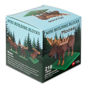 Mini building blocks of a moose