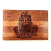 Cutting board in shape of bear